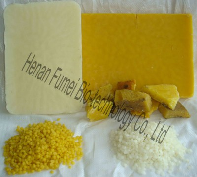 Pure natural white beewax
