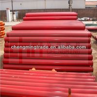 Concrete pump pipe line ST52 seamless pipe