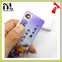 Smart outlooking usb lighter for woman and man and more safe than gas lighter