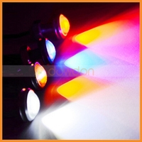 10mm Motorcycle Hight Eagle Eye Bumper Light Auto 6500K Xenon LED