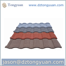 Heat-resisting copper colored metal roof
