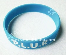 High quality bulk cheap silicon rubber wristbands