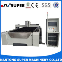 CNC Fiber Laser Cutting and Engraving Machine Making Sheet Metal