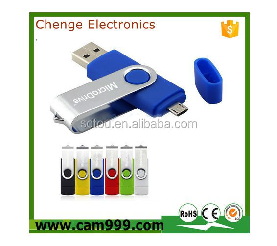 cellphone usb flash Good quality OTG USB flash drives with capacity 2GB ~64GB in good types can print custom logo on the OTG USB
