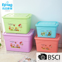 Shunfu EPAG Top 10 save 5% free sample stupendous best sell 25L 30L 35L blue green pink purple PP plastic storage box container