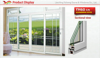 Best selling hot chinese products home pvc sliding door goods from china
