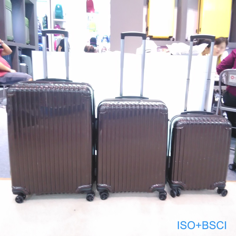 China supplier travel colorful pc luggage