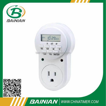 Weekly Digital Timer socket