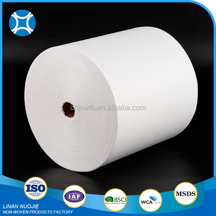Disposable White Spunlace Cleaning Innovative Kitchen Wipe Cloth