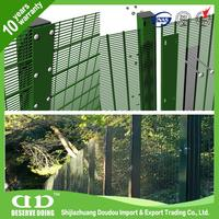 Plastic pvc coated metal galvanized wire mesh fence panels