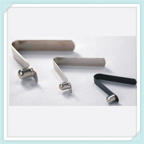 button V- clips for pipe Flat Spring V Spring Clips tube clip
