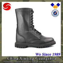Goodyear welted Classic Split leather Military Boots