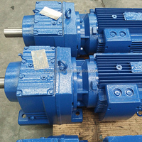 R seies shaft mounting helical gearbox for machine