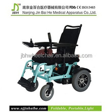 Personal vehicle electric passenger four solid wheel wheelchair
