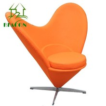 2016 Hotselling Furniture Heart Shaped Cone Chair