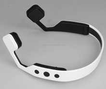 New High Quality bluetooth 4.0 bone conduction earphone neckband sport headset with microphone