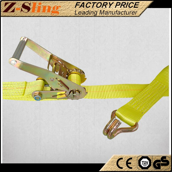 Z-Sling polyester webbing Light Ratchet Lashing Belt used ATVS