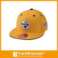 Custom Logo Steelers Embroidery Applique Letter for Cap