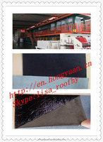 self adhesive HDPE waterproof materials/bitumen roofing felt/asphalt roofing sheet