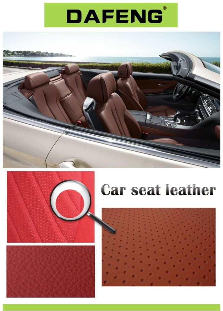 new car seat pvc cover leather for car