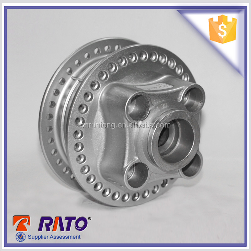 China silver motorcycle rear wheel hub for cg125
