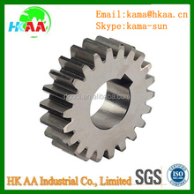 OEM spur gear manufacturing cylinder spur toothed gear, power transmission spur gear parts
