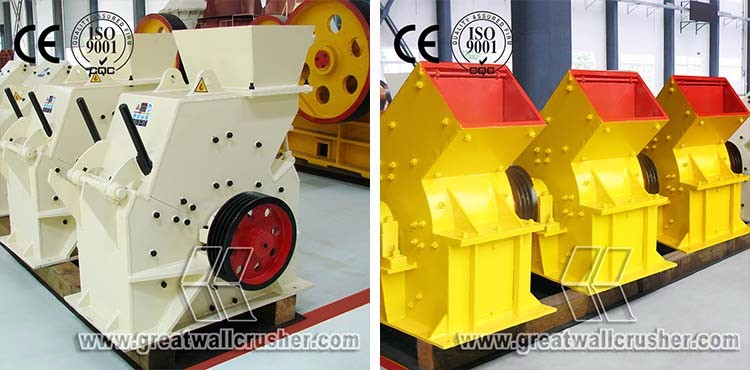 CE ISO Quality Quarry Coal Glass Hot Sale Small Hammer Crusher