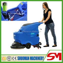 Big capacity commercial adjustable armrest pavement cleaning machine