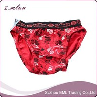 Beautiful printing underwear boys hot panty