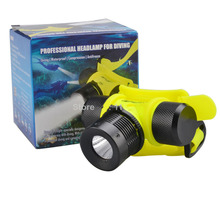 YAOMING 1000lm Waterproof Headlight Underwater Headlamp LED Diving Flashlights