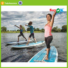 Inflatable paddle board,the giant sup stand up paddle board inflatable
