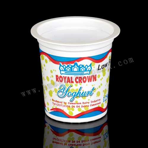 140ml plastic disposable frozen yogurt container