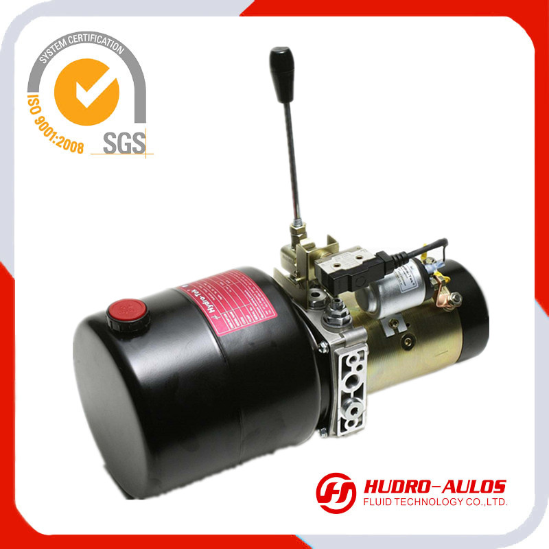 manual control 12v dc small hydraulic power unit manufacture