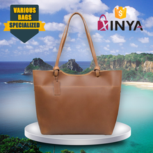 Premium Vegetable Tanned Buffalo Leather Large Tote Bag