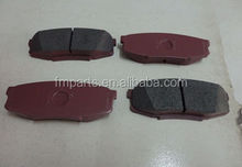 FOR GRJ200/UZJ200/LAND CRUISER BRAKE PAD FOR TOYOTA CARS OEM: 04466-60120