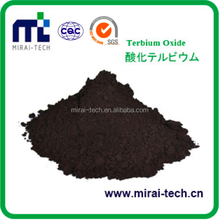 Best price rare earth material terbium oxide wholesale used in memory storage