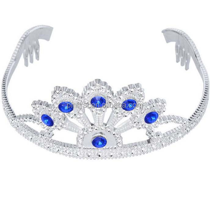 Silver plating toy tiara for child Costume accessory