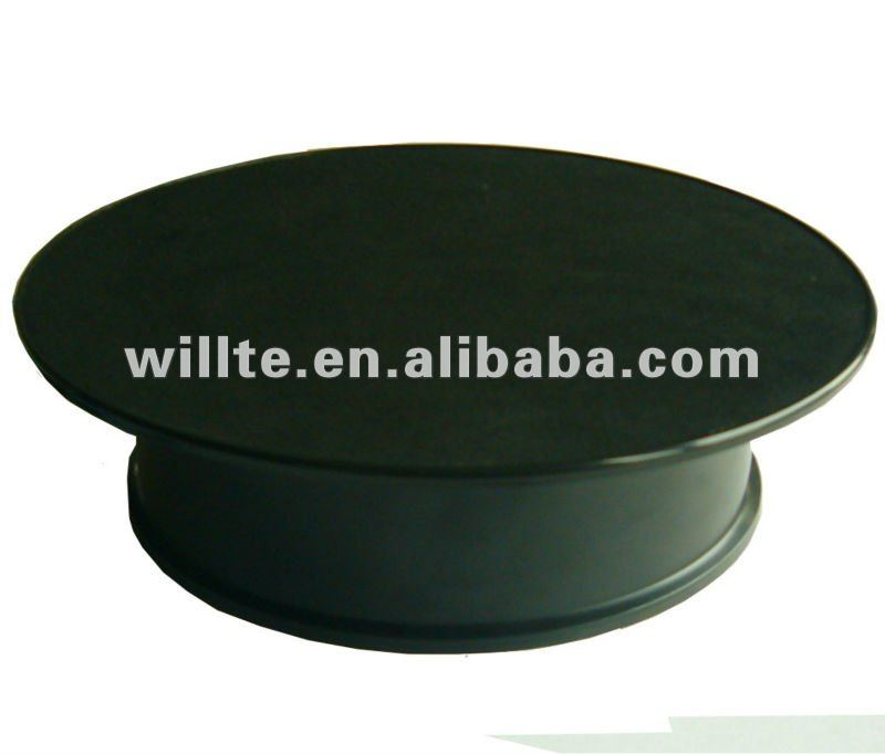 3-5r/min ABS Black motorcycle turntable(A0111T-M)