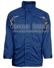 Tecron Safety Insulated Jacket / FR cotton Workwear / 3 in 1 Jacket