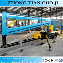 Competitive price of telescopic boom lift with diesel gas battery engine price