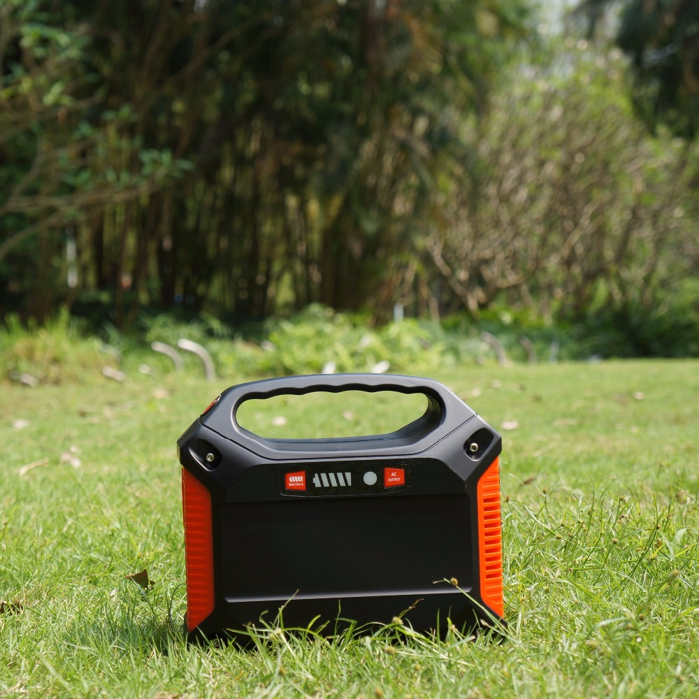 <strong>100</strong> Watt Portable Solar Generator Power Station Home Camping Emergency Power Supply Charged by Solar