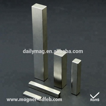 China Manufacturer Rare Earth Block 6 Inch Neodymium Magnet