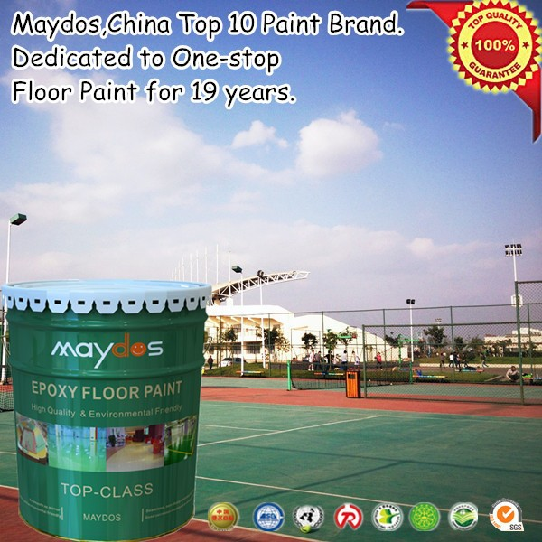 Abrasion resistant Maydos high build excellent performance epoxy floor coating