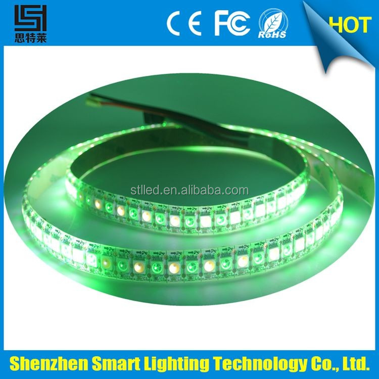 2016 popular products flex RGB+W/ww/nw/cw Addressable 144 leds per meter Led Strip