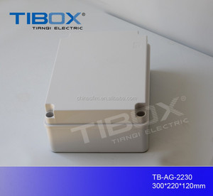 TIBOX high quality outdoor cable TV junction box ABS Waterproof Junction Box IP66
