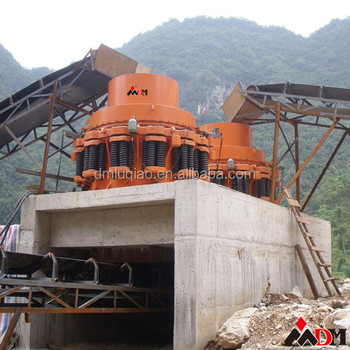 China Best DongMeng multi-cylinder hydraulic cone crusher certified by CE ISO