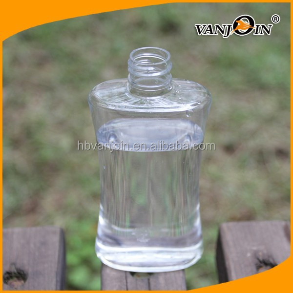 Clear PET Plastic Mini Wine Bottle