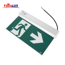 Acrylic Fire Emergency Light LED Exit Sign Board 24m
