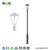 Antique Decorative Cast Aluminum LED Garden Light Pole Modern Steel LED Parking lots Area Light Pole
