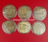 The Beatles coins art collection made in China